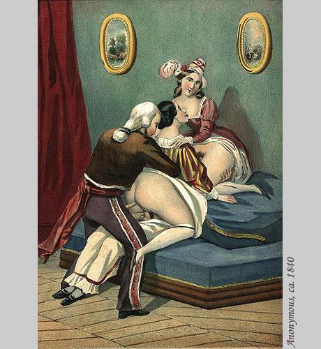 секс в старинных картинах